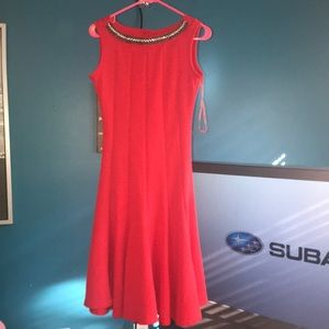 Elegant Haani Red Dress